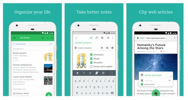 Evernote - take notes from your Android