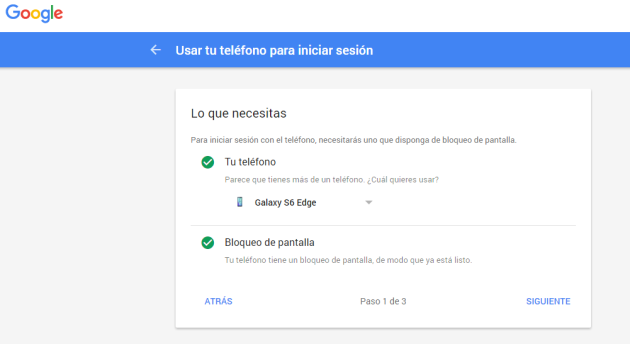 Steps to give access to Gmail from phone