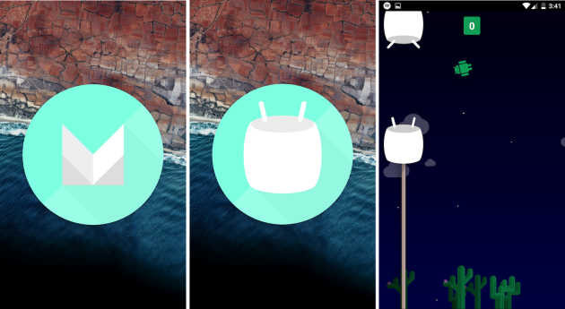 Hidden game on Android Marshmallow