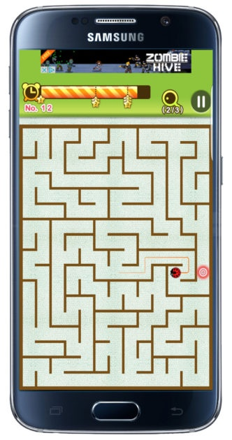 Playing King of the Maze