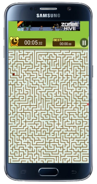 King of the Labyrinth Advanced Level