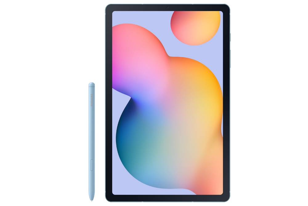 Front image of the tablet Samsung Galaxy Tab S6 Lite
