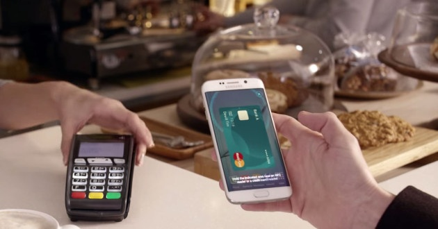Using the Samsung Pay service