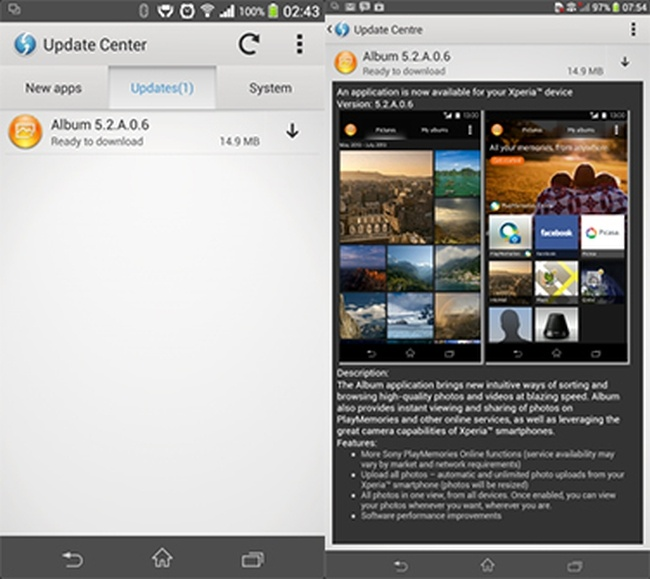 Sony Xperia Z1 and Xperia Z Ultra receive important updates