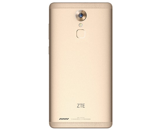 Image of the back of the ZTE Axon Max