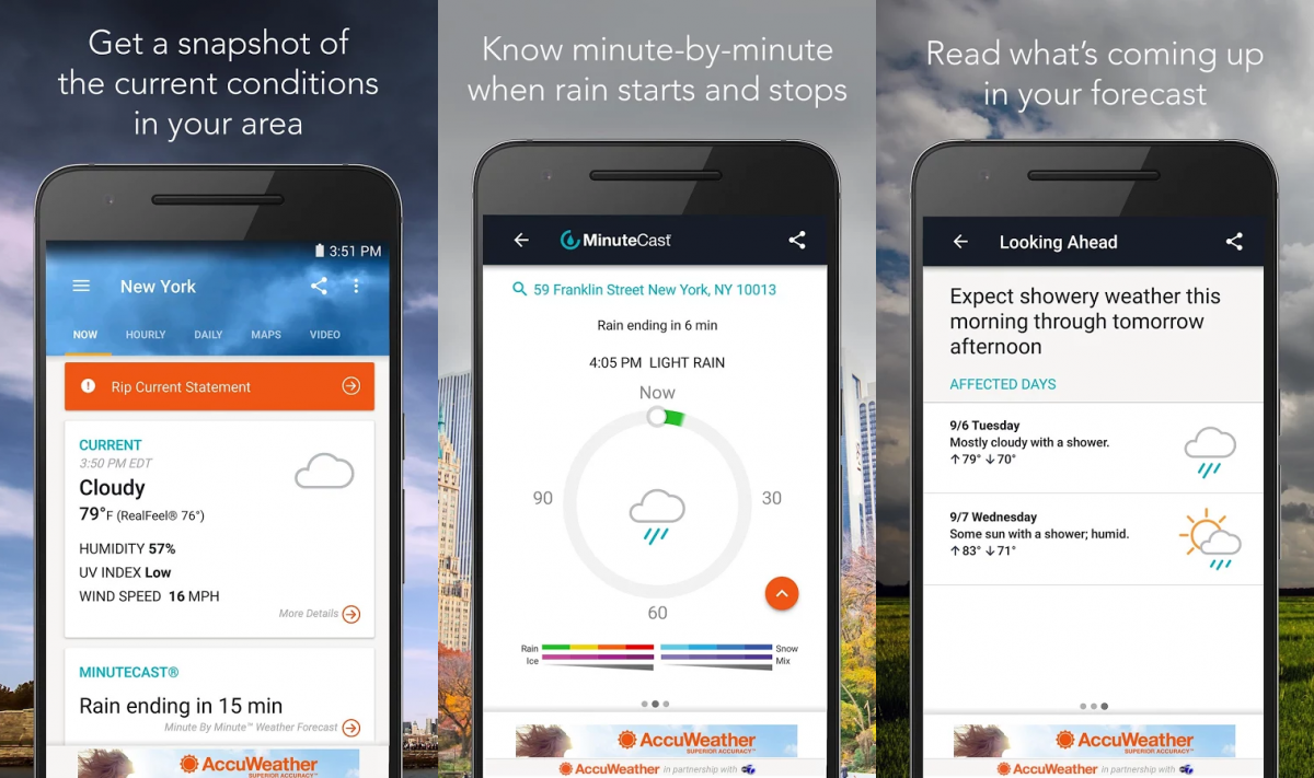 accuweather weather apps