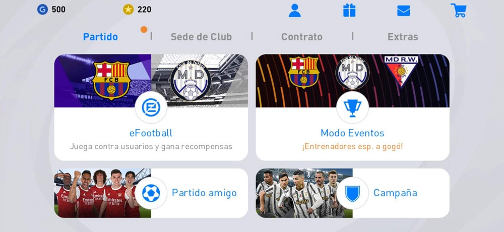 efootball pes 2021 clubhouse