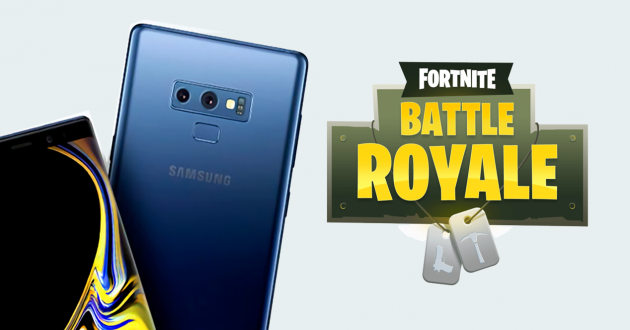 Fortnite Android exclusive Galaxy Note 9