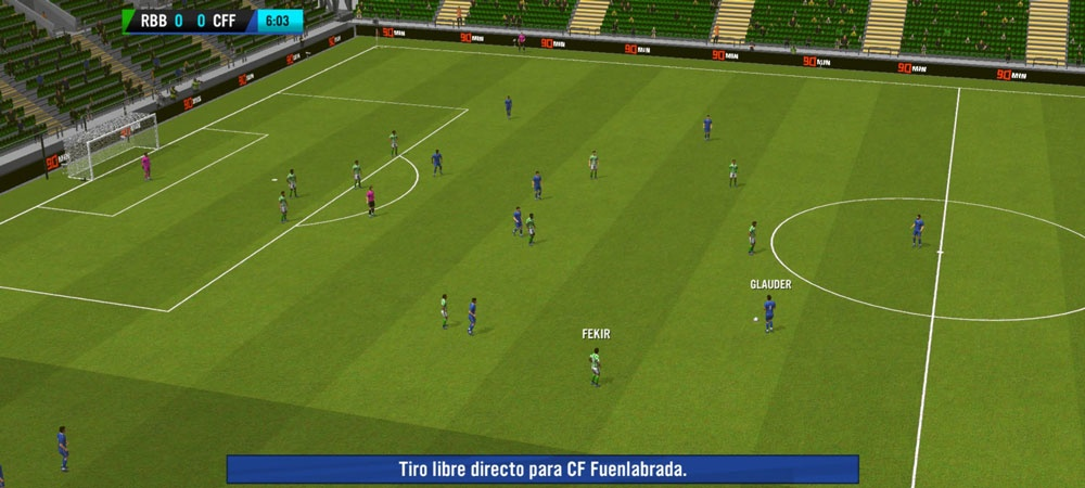 soccer manager 2021 match
