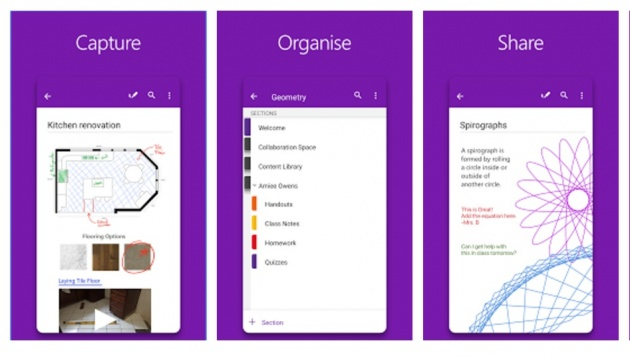 OneNote - take notes from your Android