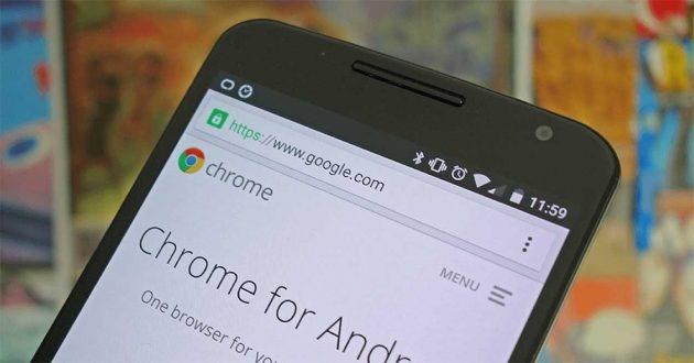 privacy settings in Chrome for Android