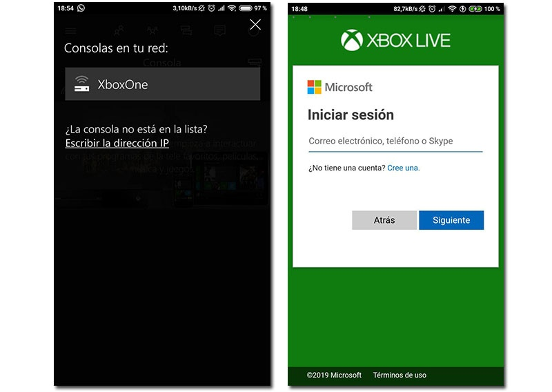 Connect Xbox One on Android
