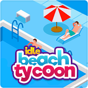 Idle Beach Tycoon: Cash Manager Simulator