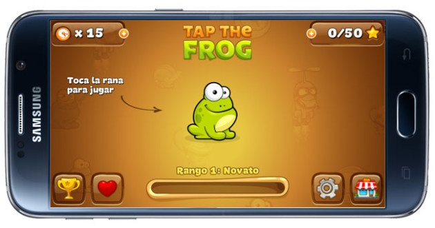 Starting Tap the Frog