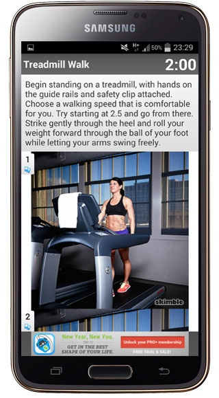 Explanation Workout Trainer
