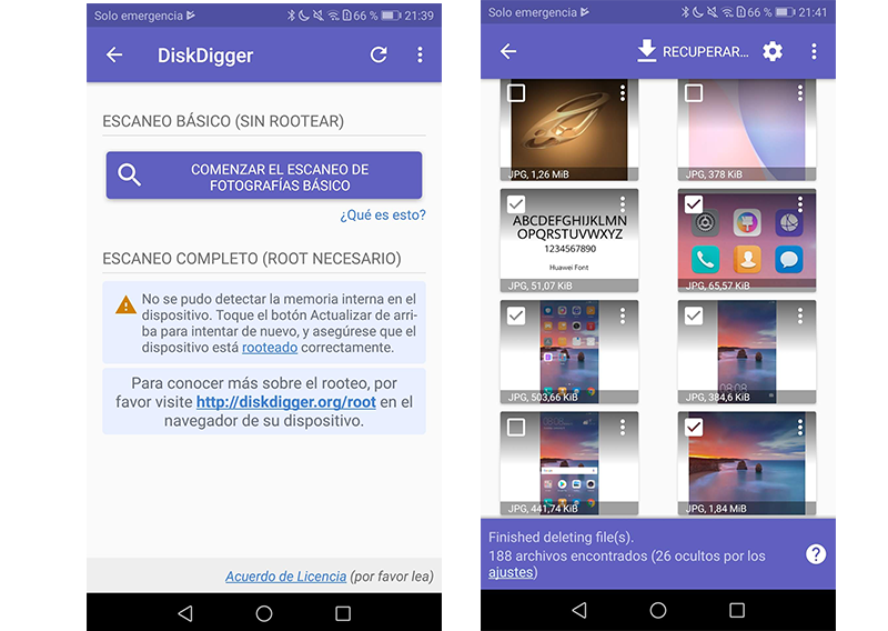 recover deleted images on android