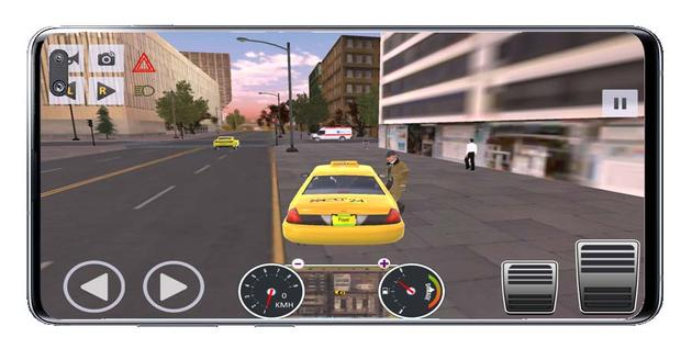Taxis Android game client