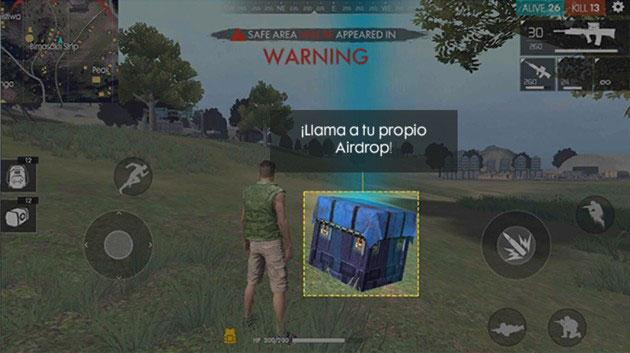 airdrops free fire