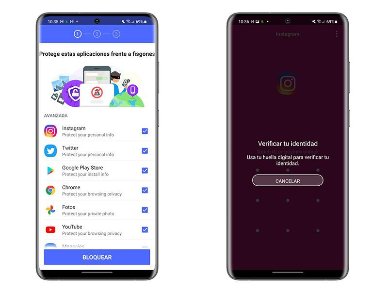 Protect the privacy of your apps on android