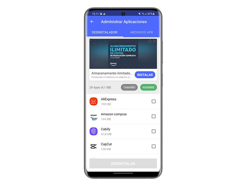 android apps uninstaller