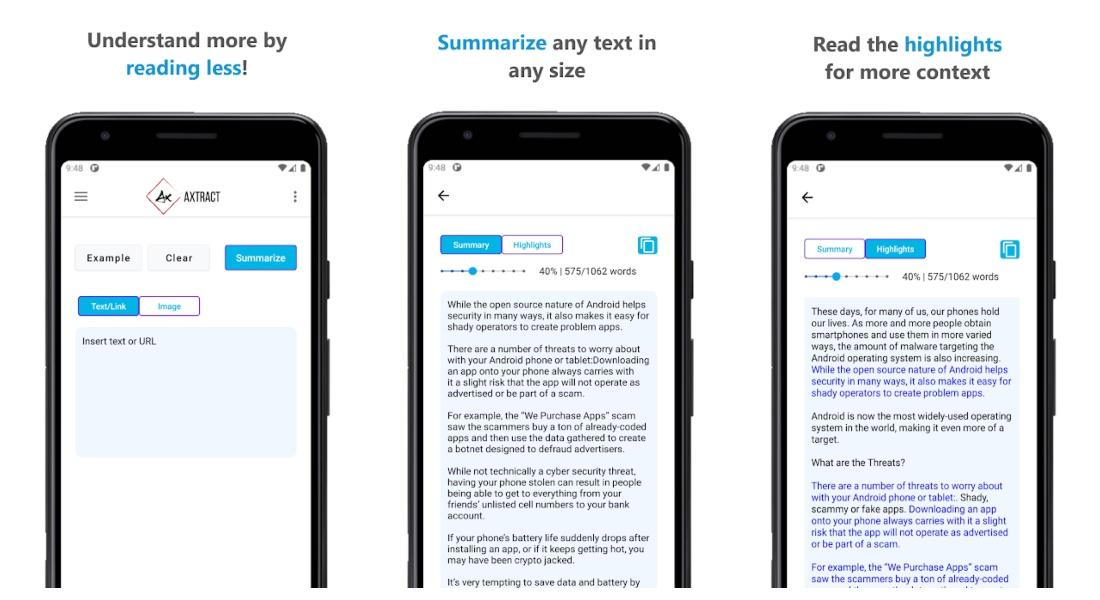 summary and analysis of texts